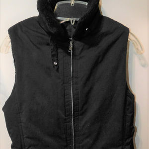 Banana Republic Fleece Collar Women's Vest